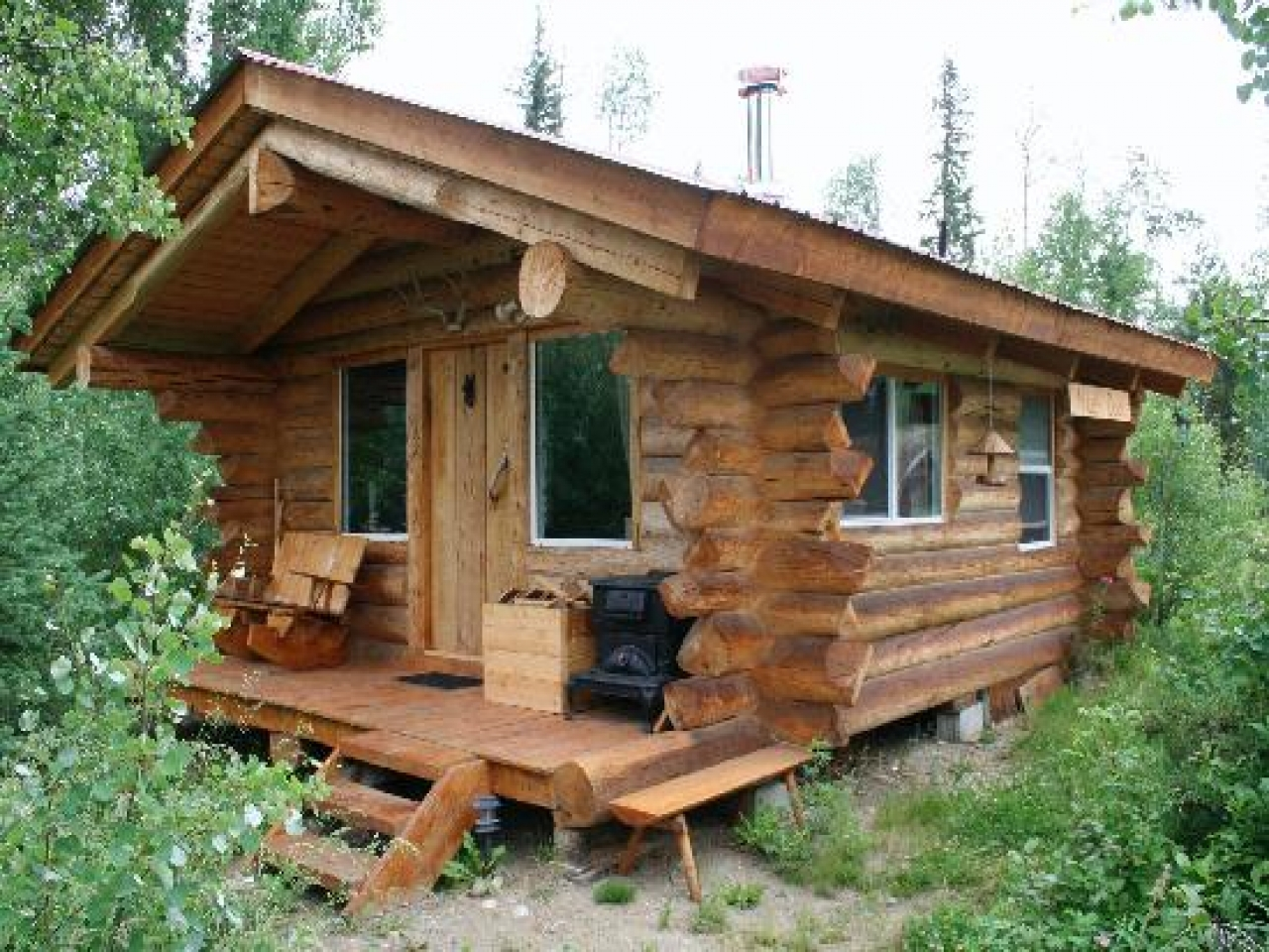 Tiny Home Designs: Small Ranch House Plans Small Cabin Home Plans, Easy Build