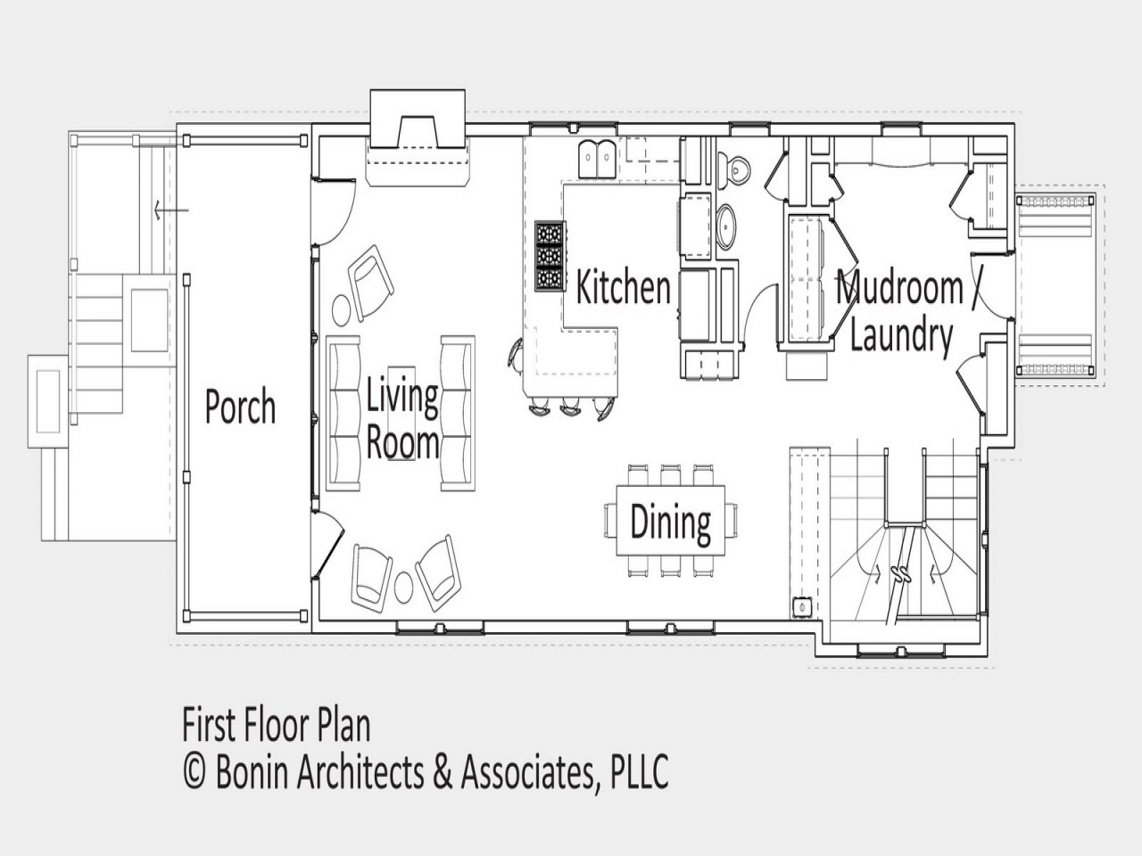 Cottage open floor plan design french country open floor for French country house plans open floor plan