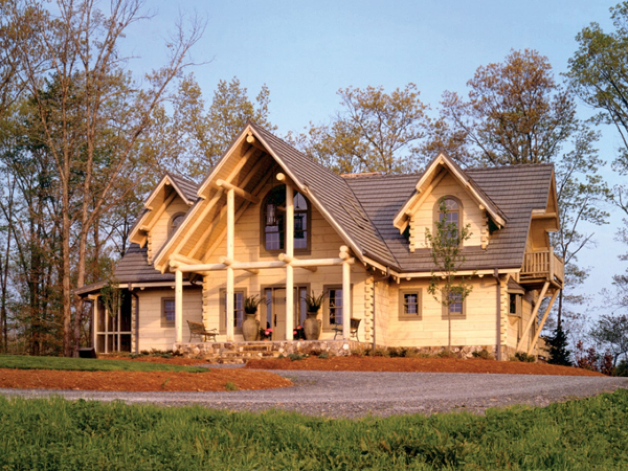 Log home rustic country house plans rustic barn homes for Rustic barn plans