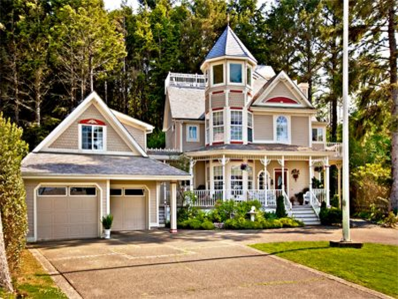 American Victorian Style Homes Beautiful Victorian Homes