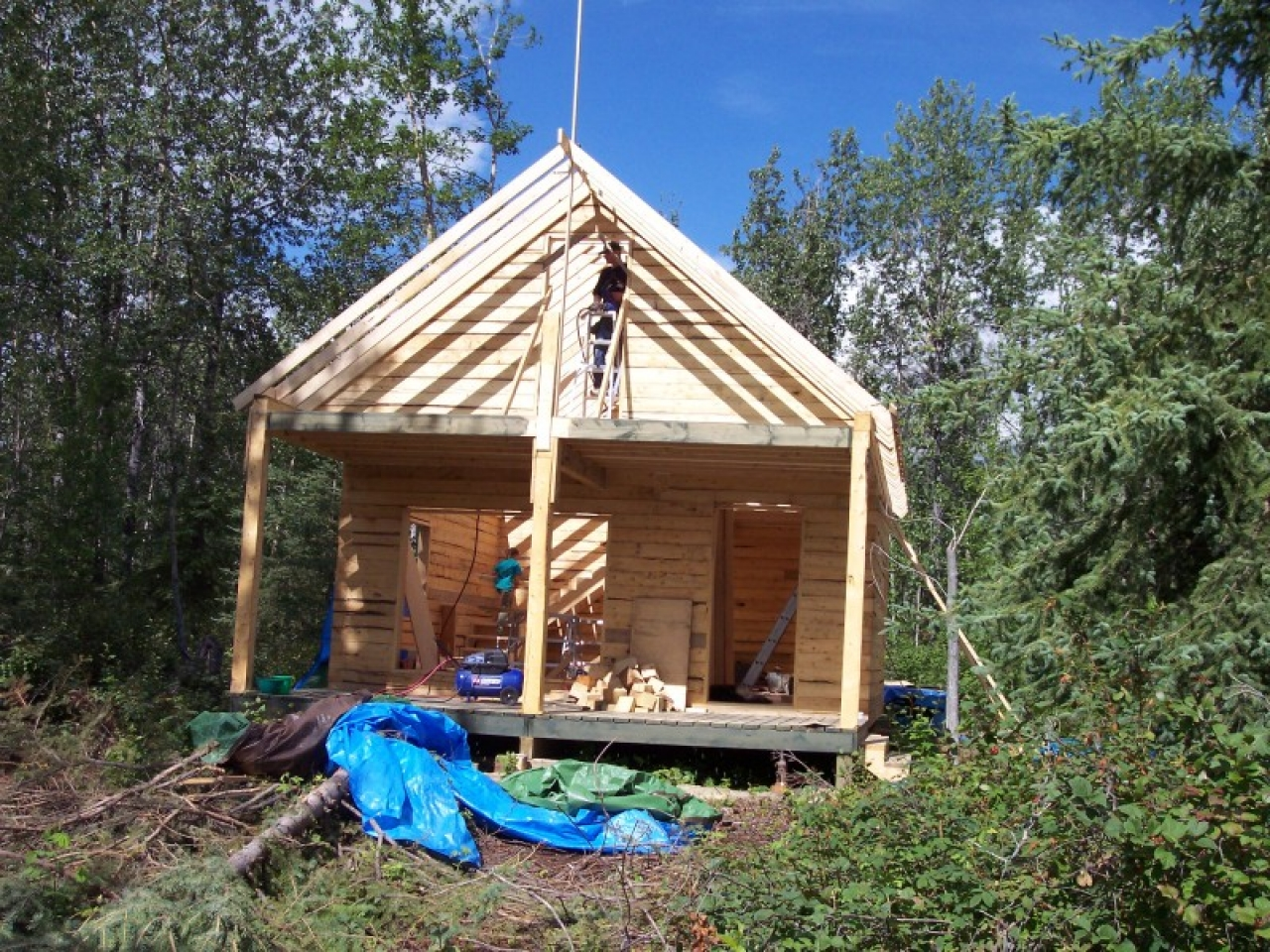 Build It Yourself Campers Build It Yourself Cabin Kits: Building Small Cabins Building Small Cabins On Trailers