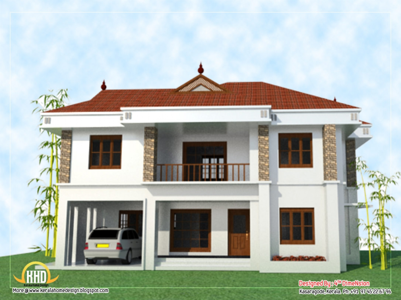 Two storey house design 2 story home designs new 2 story for Home designs two story