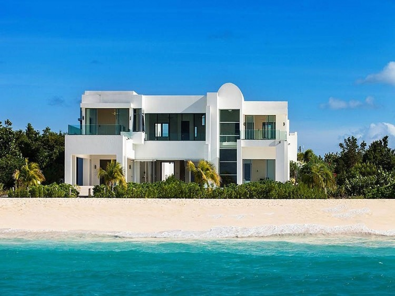 Beautiful beach houses caribbean beach house designs seaside home designs - Beach home design ...