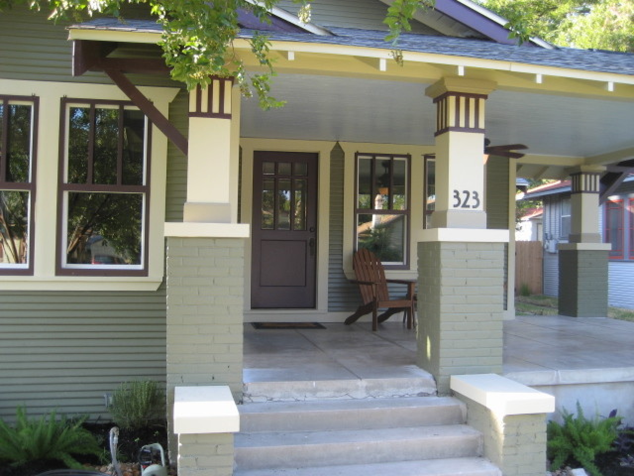 Small Front Porch Ideas Craftsman Front Porch Design