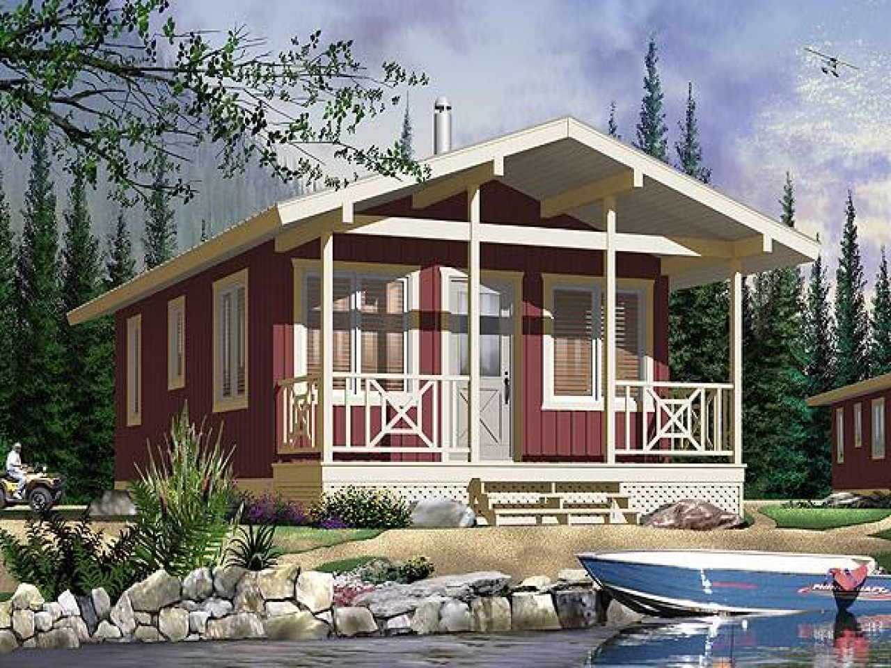 Tiny house company small tiny house plans very small for Very small cottages