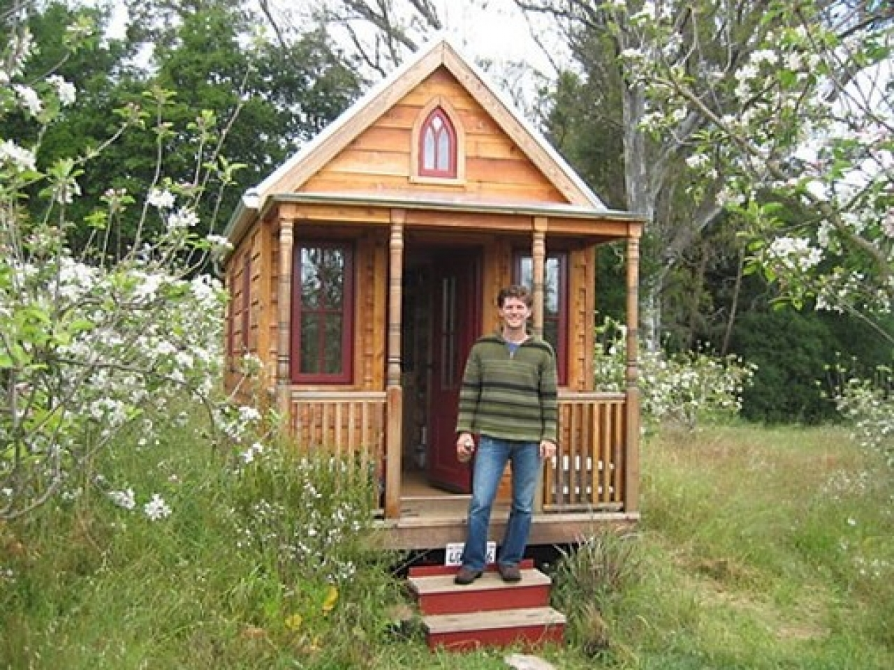 Tiny Home Design: Tumbleweed Tiny Houses Tiny Victorian House Plans, Small