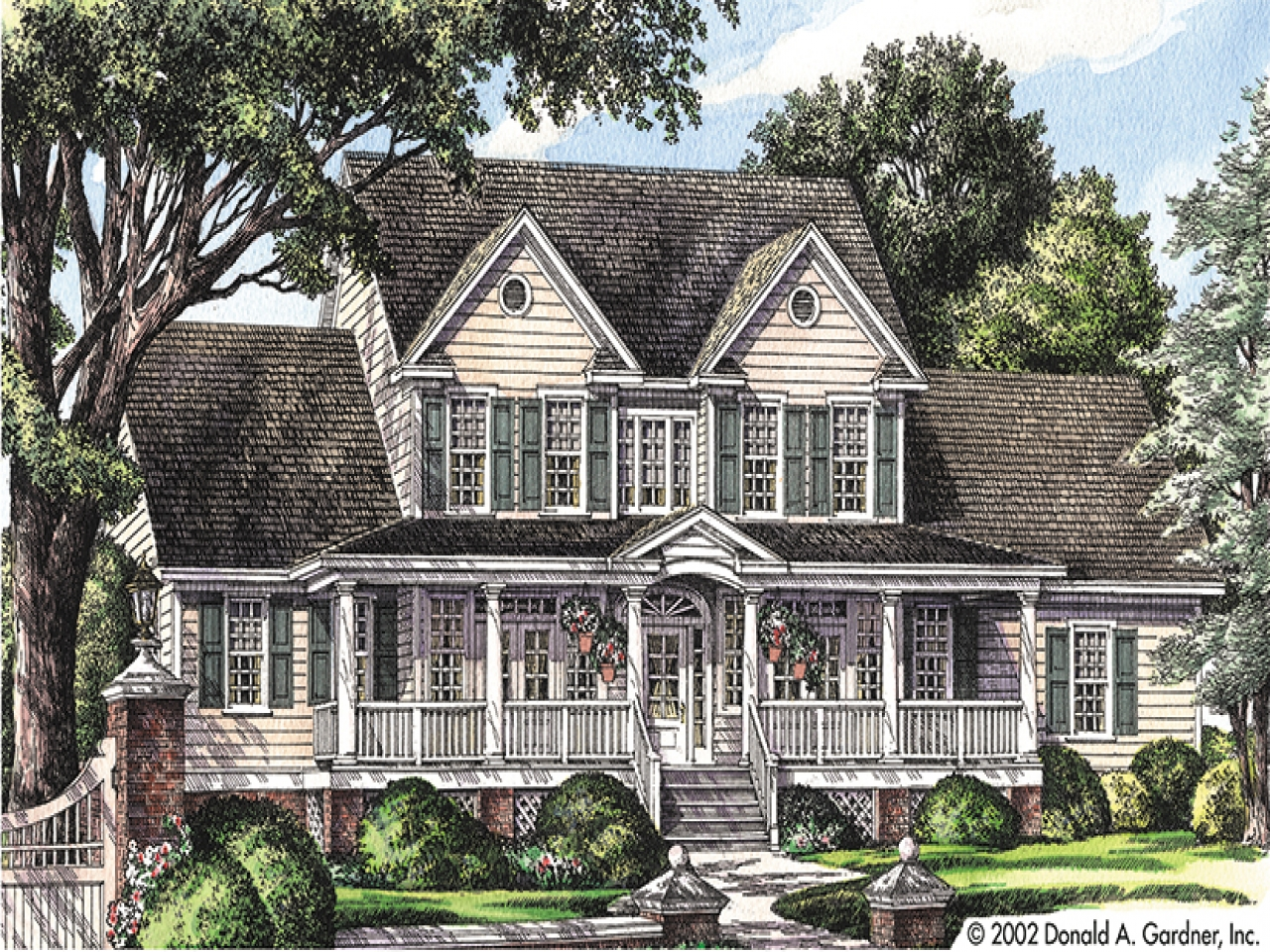 Old fashioned farmhouse plans old fashioned farmhouse for Old fashioned home plans