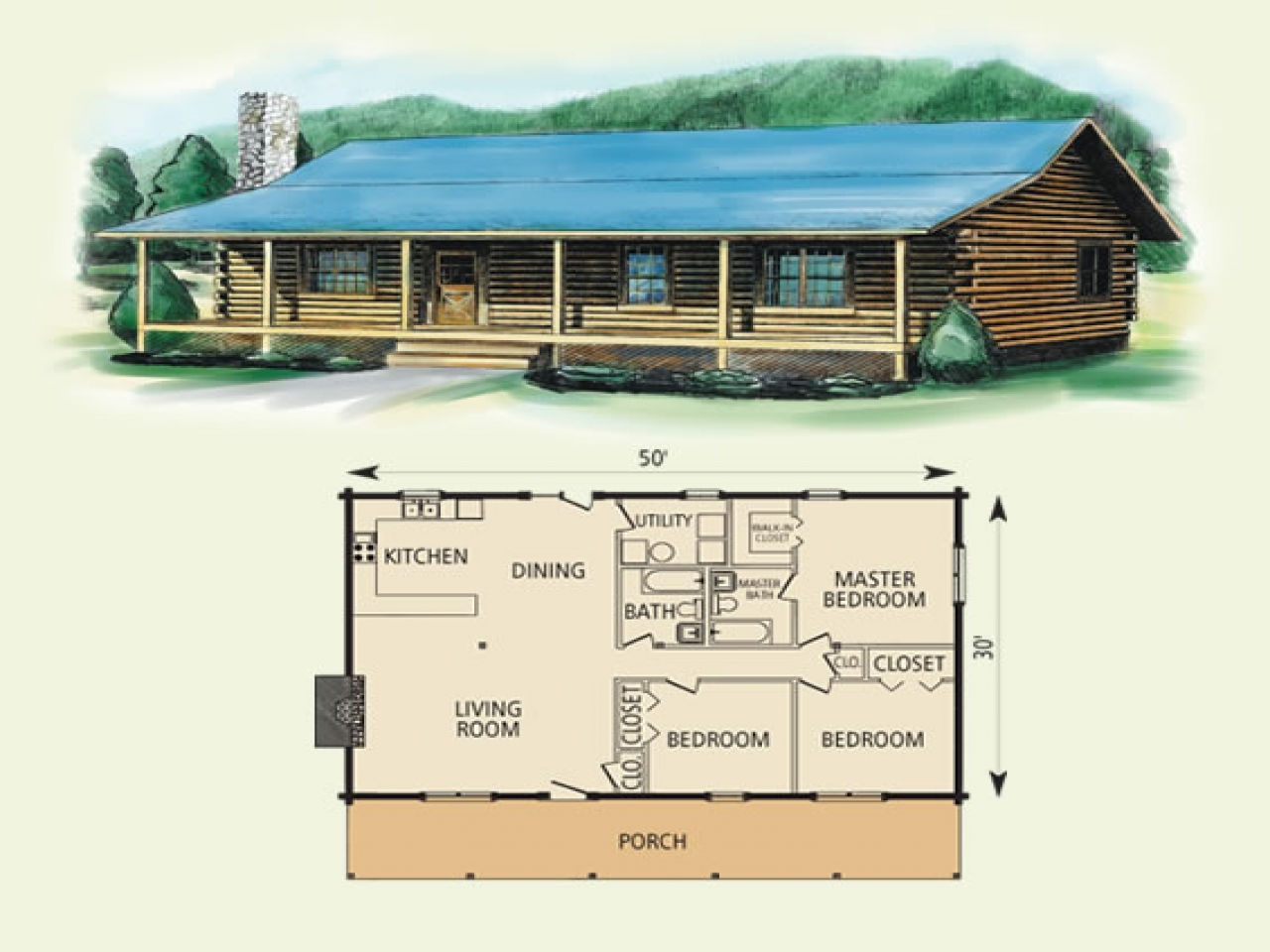 Building a simple log cabin simple log cabin home floor for Basic log cabin plans