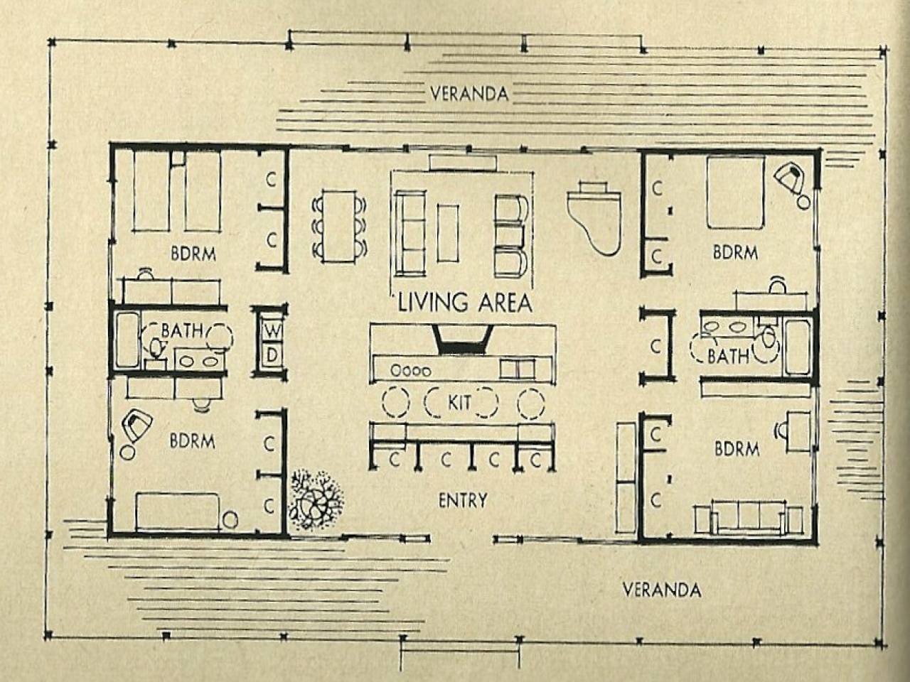Mid century modern architecture mid century modern house for 1950s ranch house plans