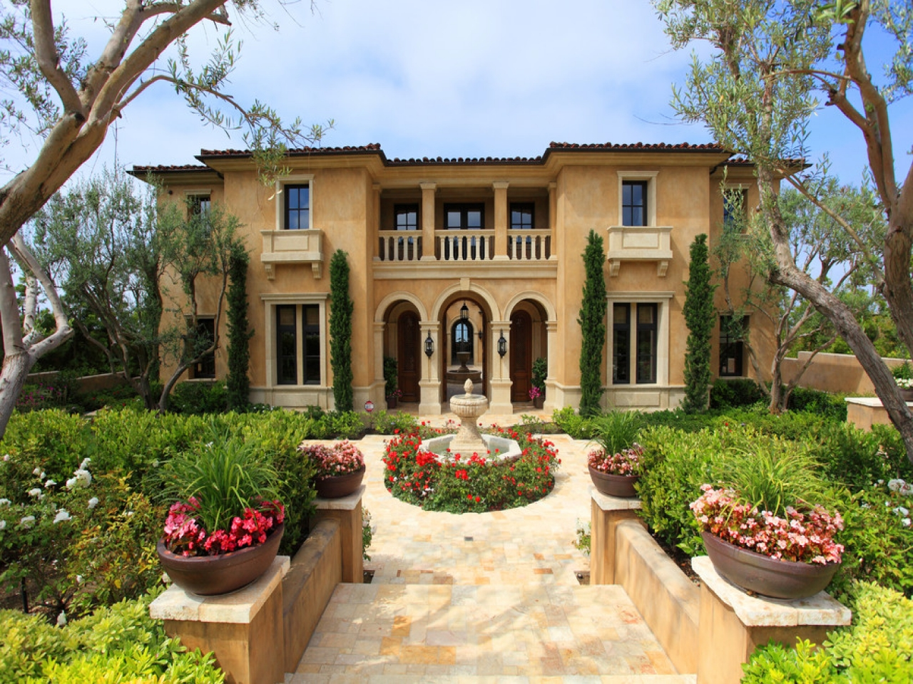 Mediterranean Home Color Combinations Mediterranean Style