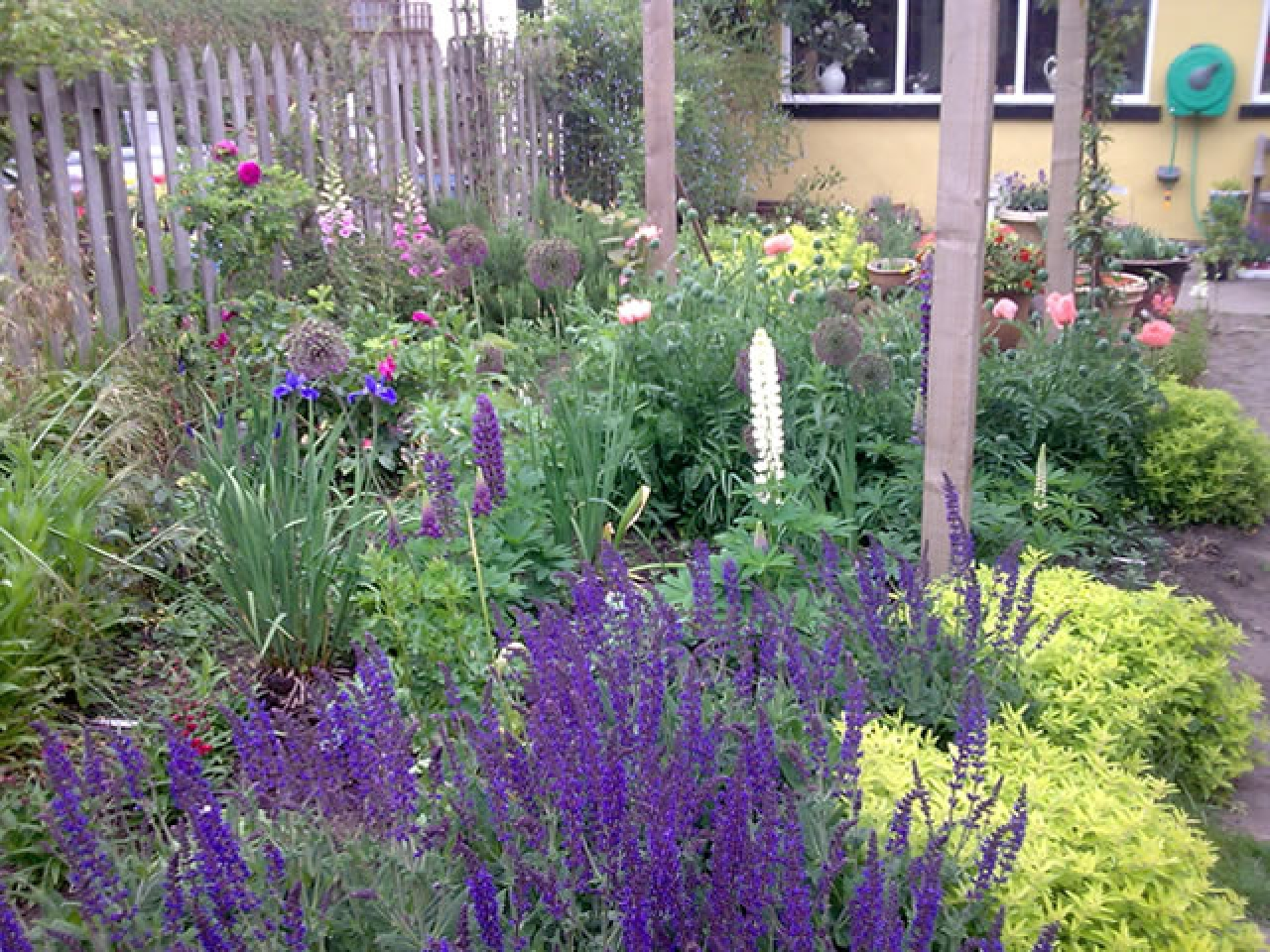Small Perennial Garden Designs Small Cottage Garden Design