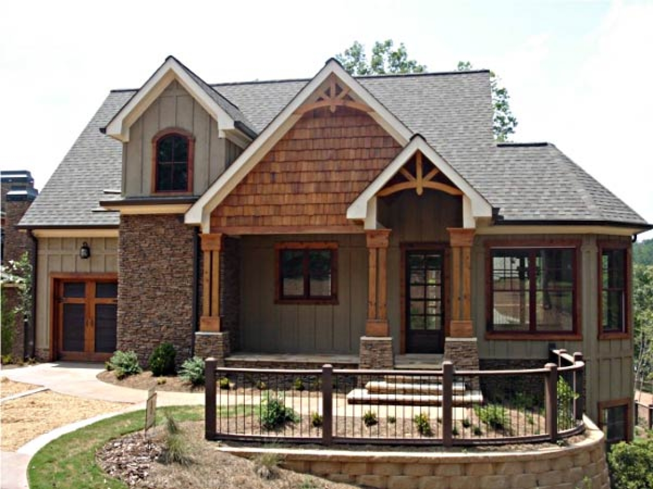 Craftsman Style Lake House Plans Lake House Living