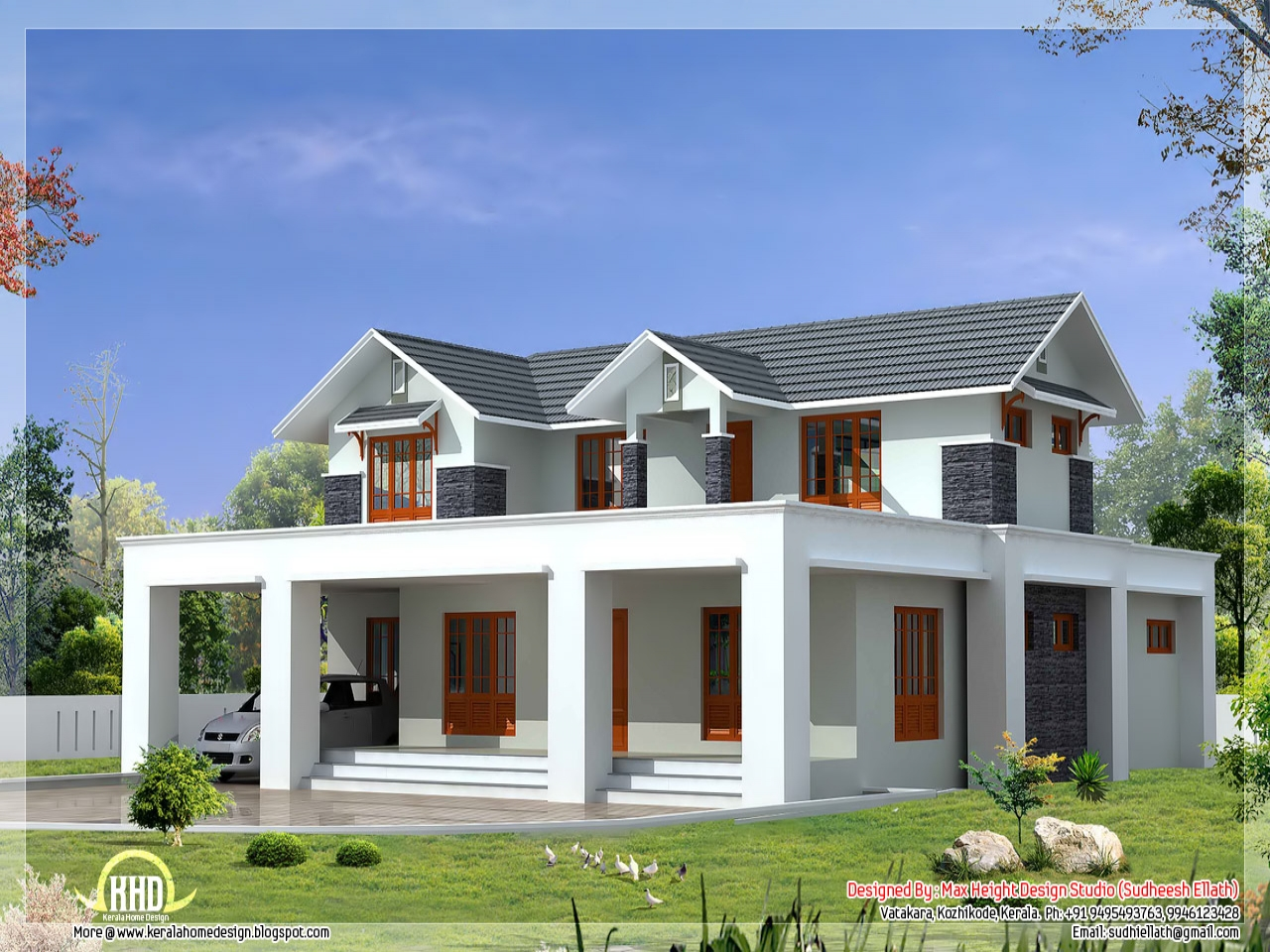 Flat roof house plans designs shed roof house plans flat for One story shed roof house plans