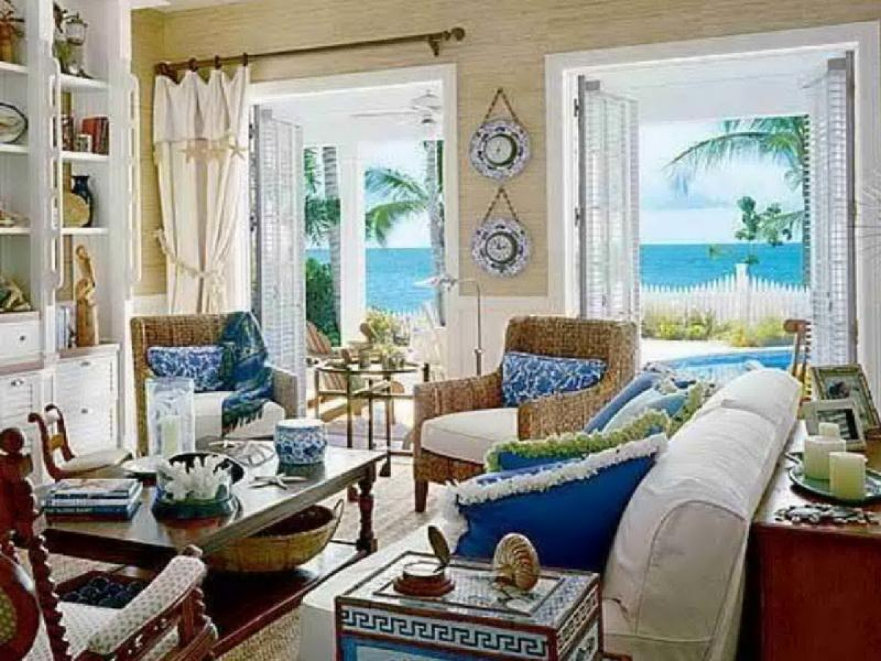 Coastal living beach house style beach style living room ideas beach style home - Beach style living room ...