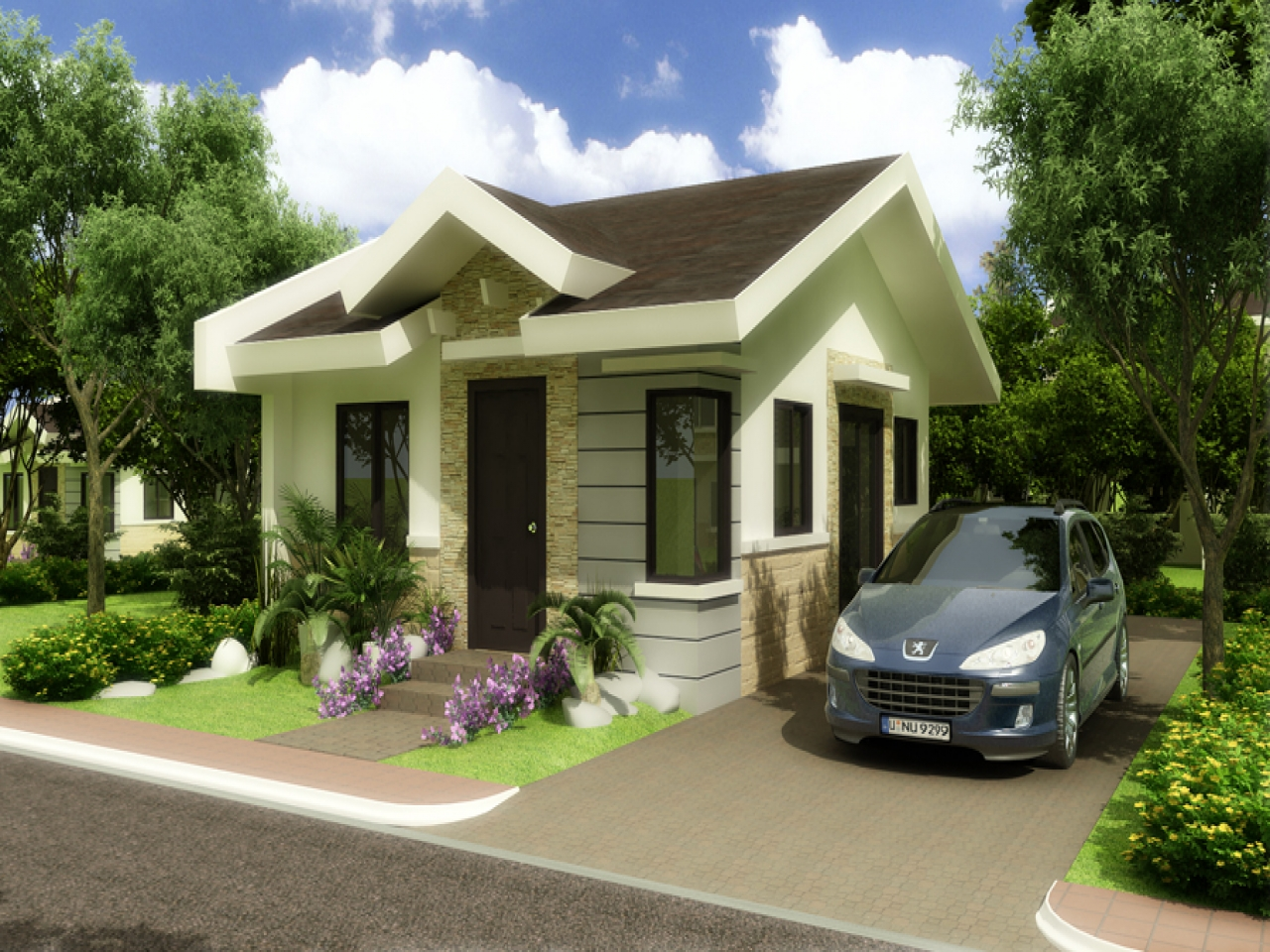 philippines bungalow house floor plan bungalow house plans philippines design lrg 42b284492b3ad275 - 38+ Modern Small House Design In Philippines  Images