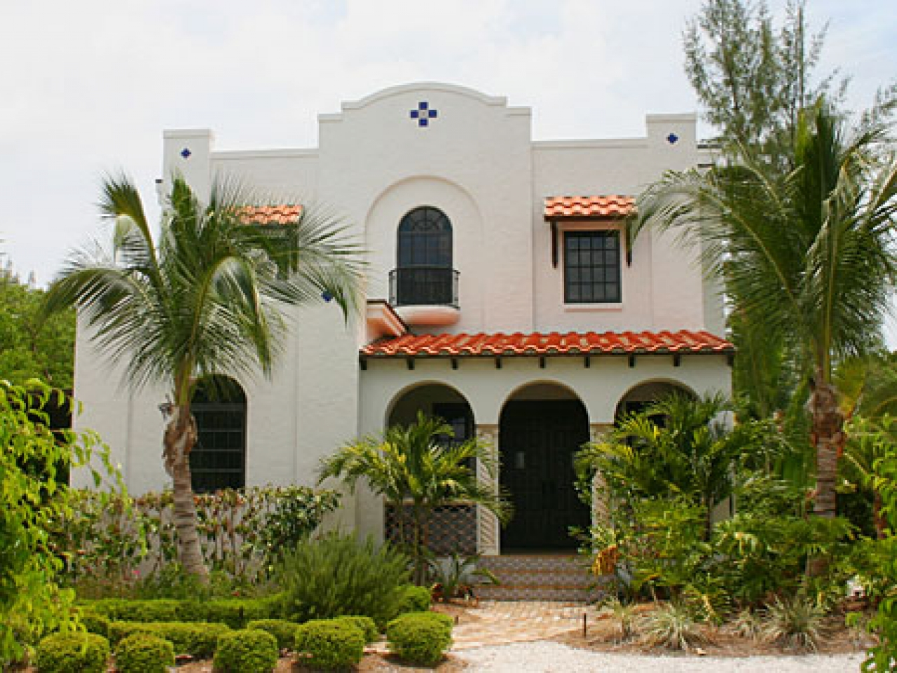 Spanish Colonial Revival House Plans Spanish Colonial