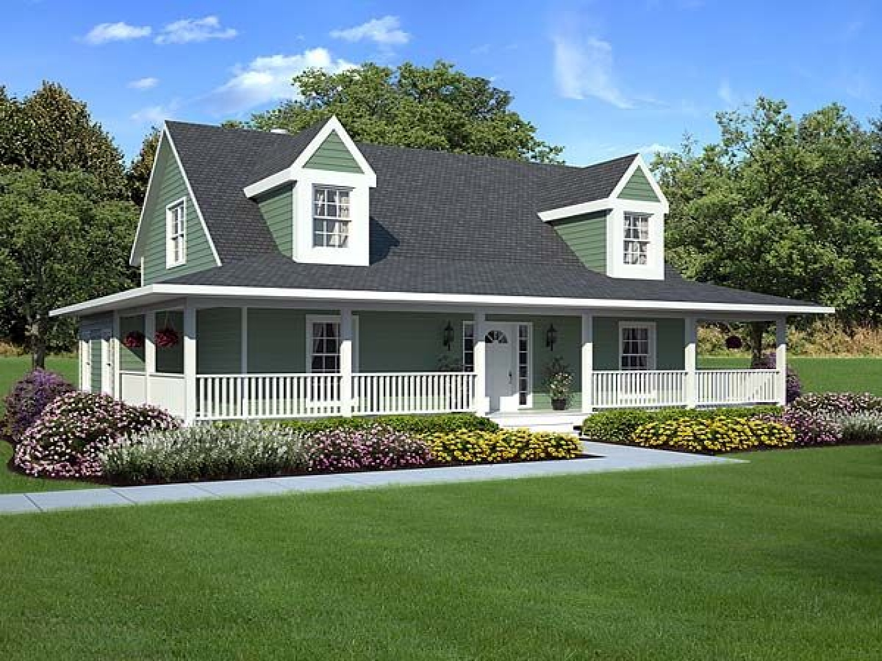 Low country house plans southern house plans with wrap for Southern low country home plans
