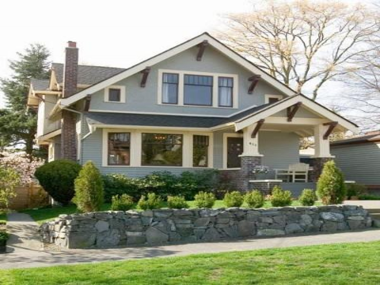 Old-Style Bungalow Home Plans Craftsman Bungalow Style ...
