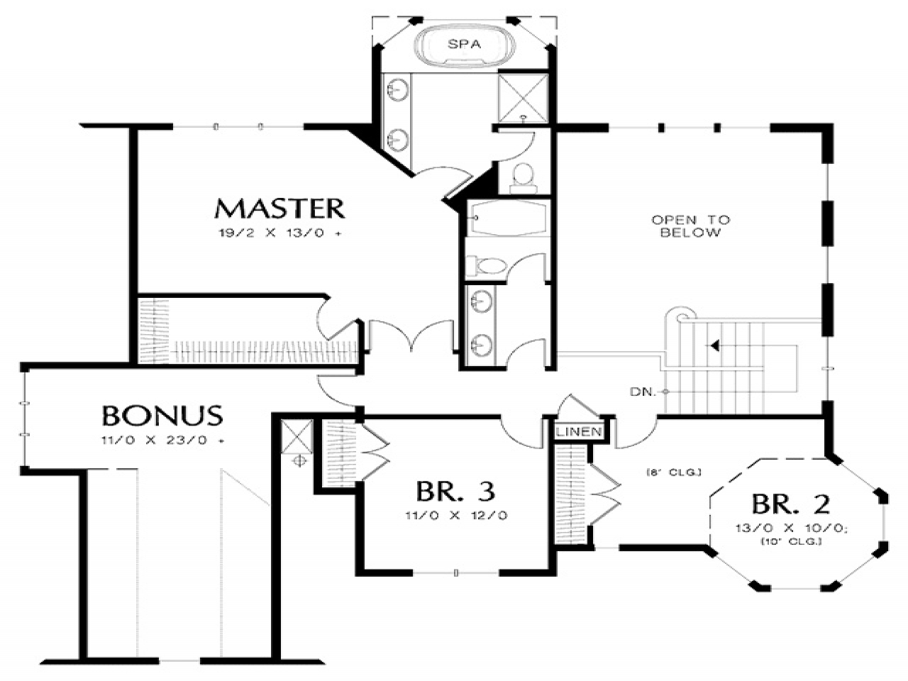 Small victorian house floor plans queen anne victorian for Small victorian style house plans