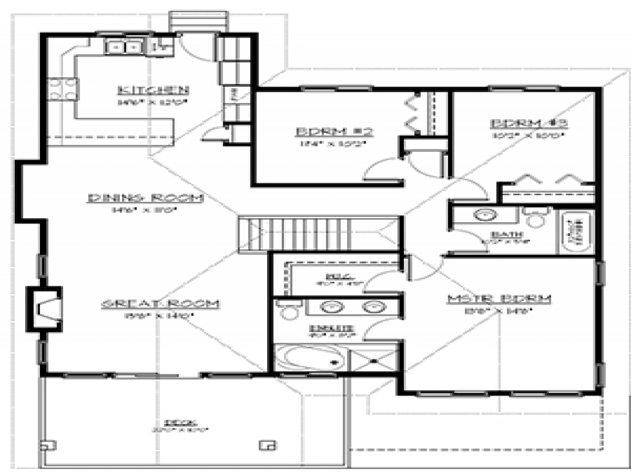 Finished basement floor plans finished basement gallery for Basement finishing floor plans
