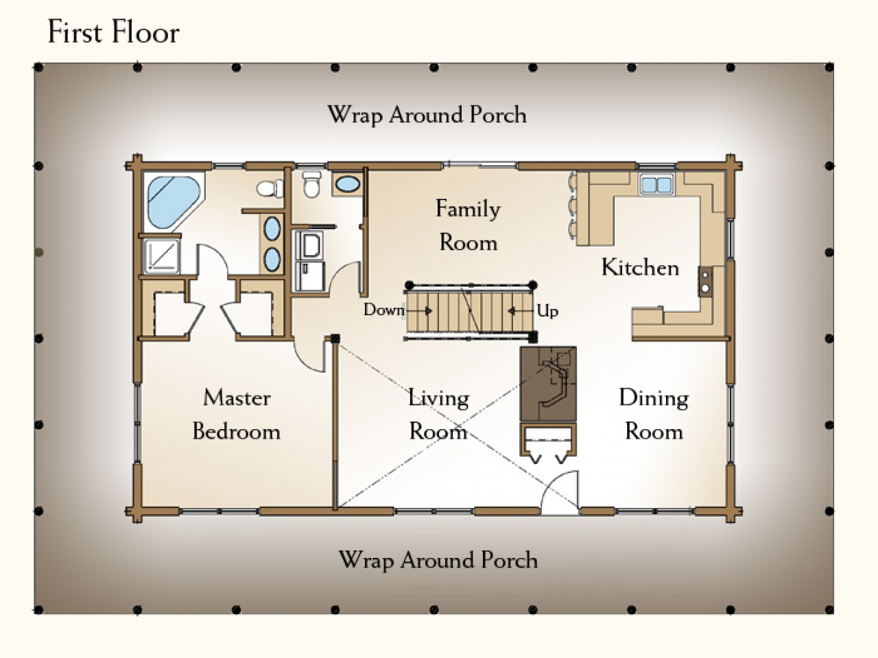 Residential House Plans 4 Bedrooms 4 Bedroom Log Home Floor Plans 4 Bedroom Log Homes