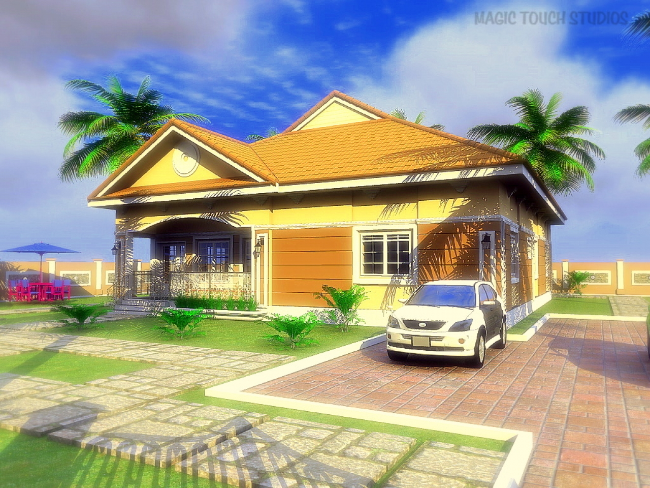 3d bungalow house plans 4 bedroom 4 bedroom bungalow home for 5 bedroom bungalow house plans