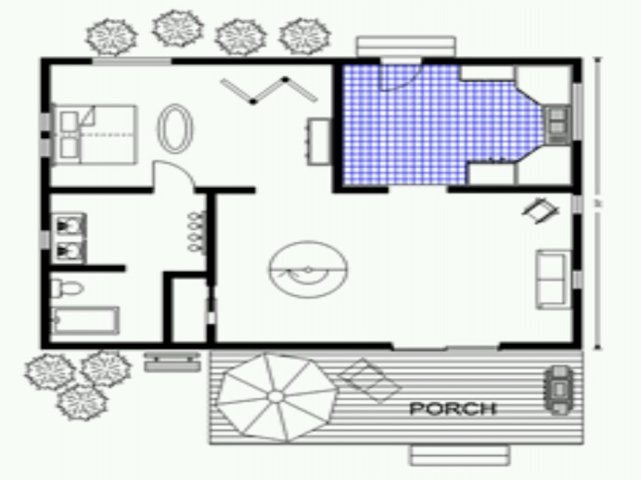 500 sq ft cabin lovely small homes and cottages pinterest How big is 600 square feet