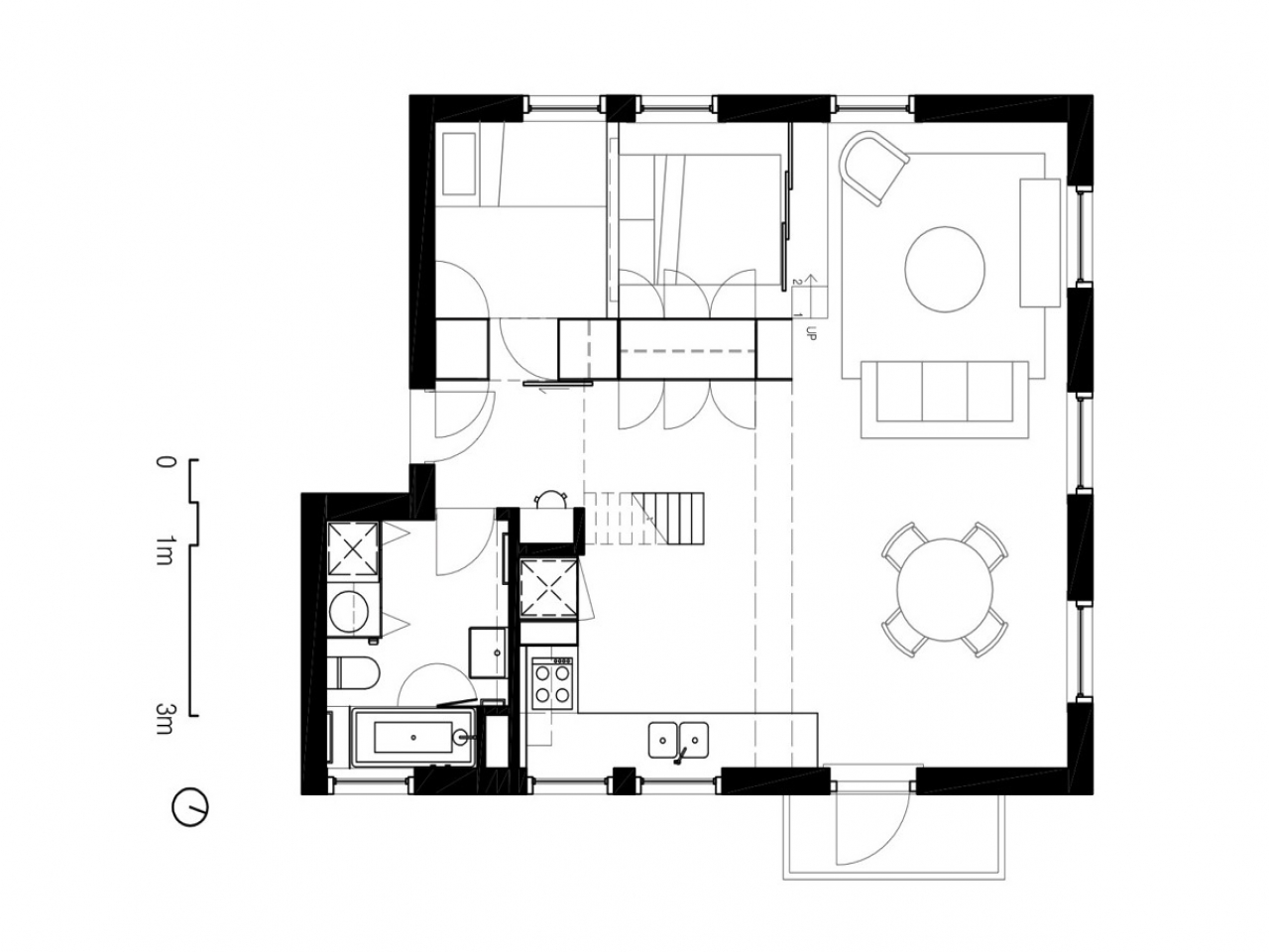 Minimalist Home Japanese Minimalist House Floor Plans