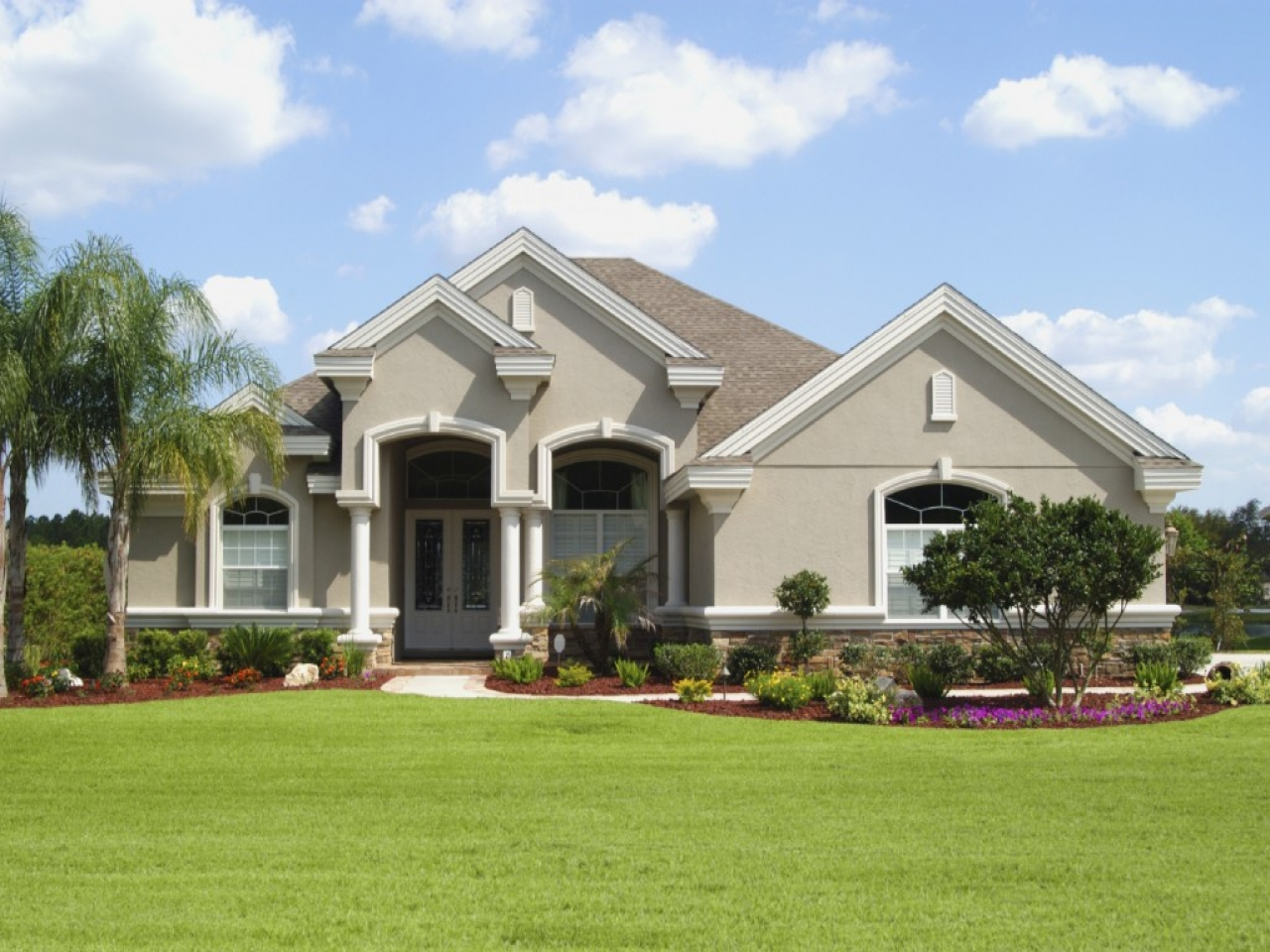 Stucco House Colors Exterior Homes Stucco House Paint