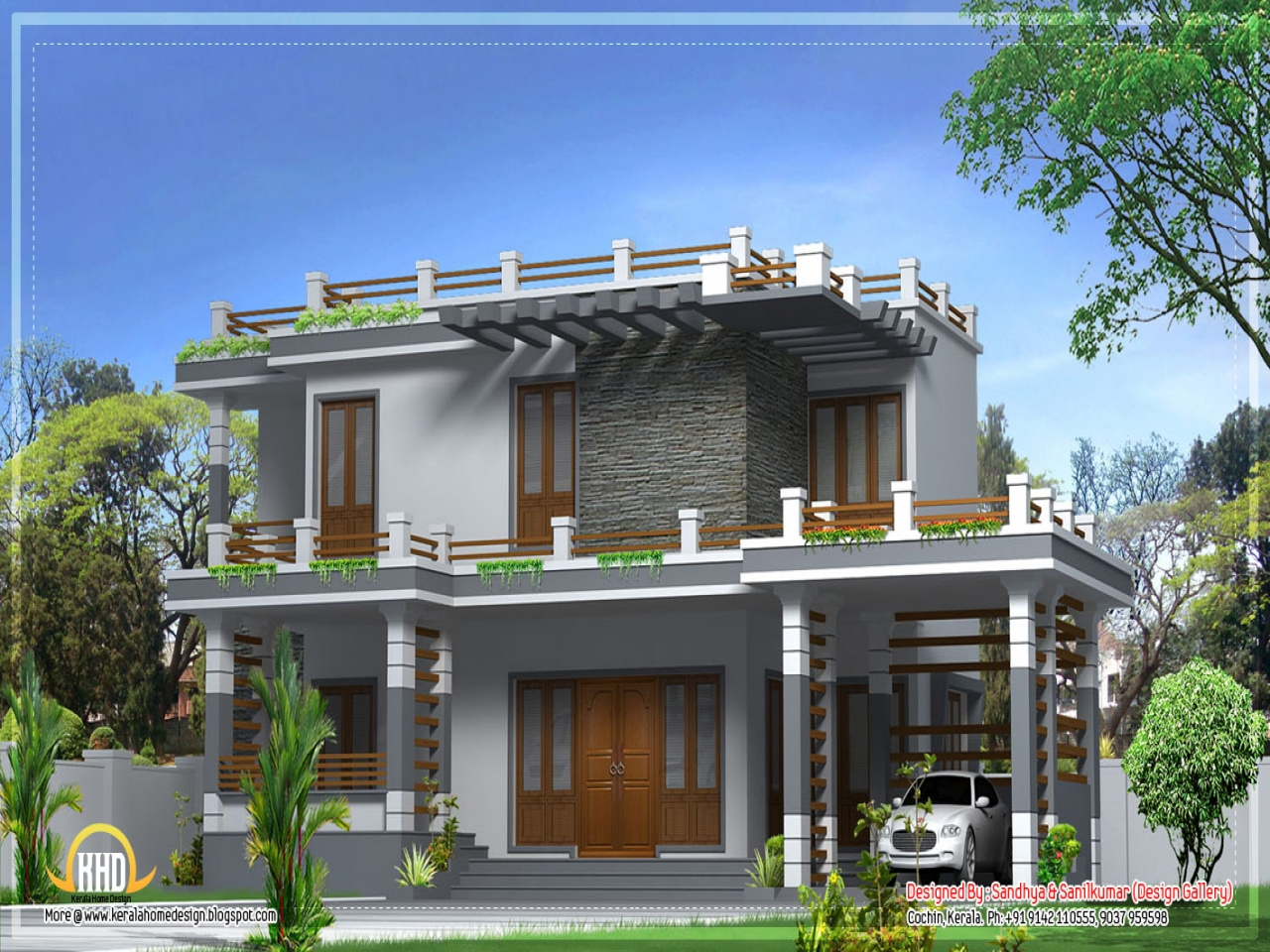 Kerala modern house design traditional kerala house for Kerala home designs contemporary