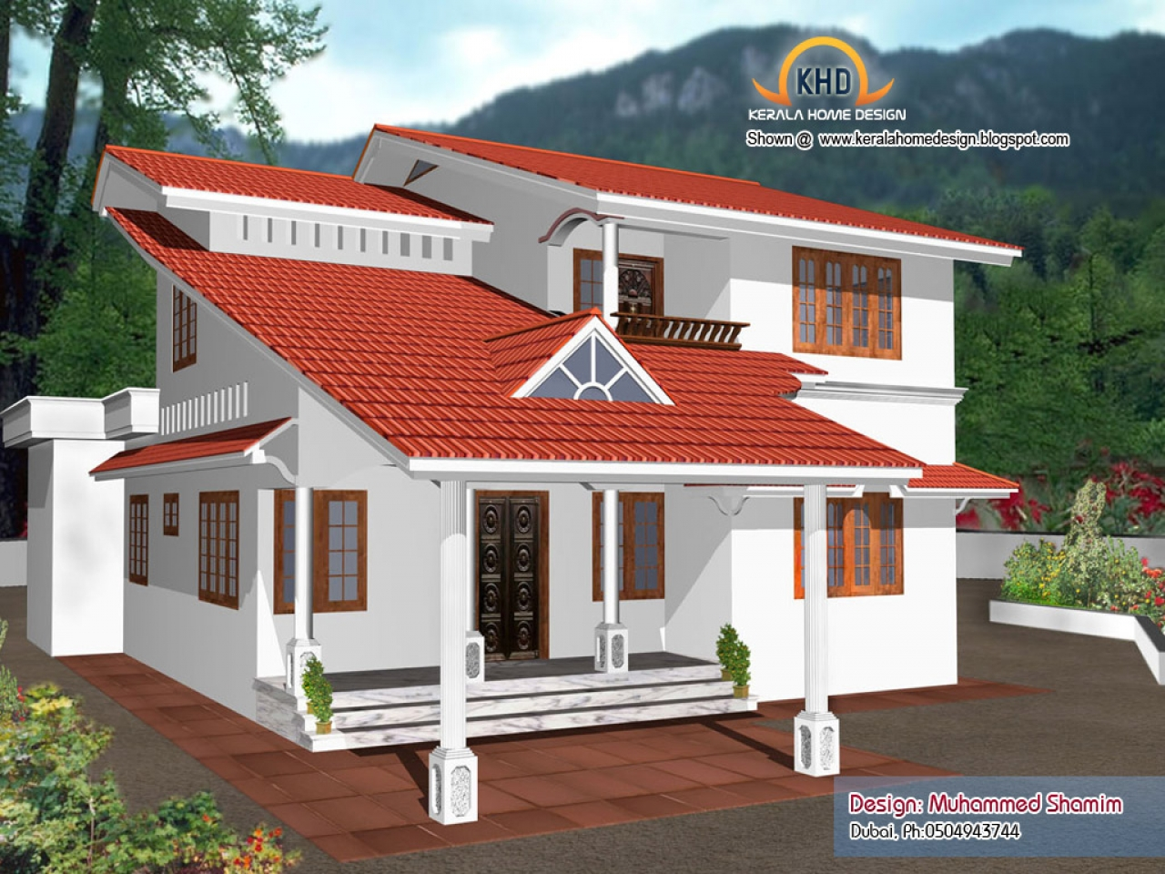 Kerala 3 bedroom house plans kerala house designs and for Veedu models of kerala