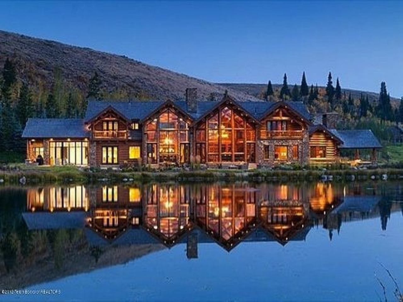 Minecraft Ranch House Huge Ranch House Log Cabin Mansions