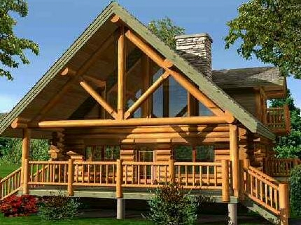 Small log cabin homes interior small log cabin home for Cabin construction ideas