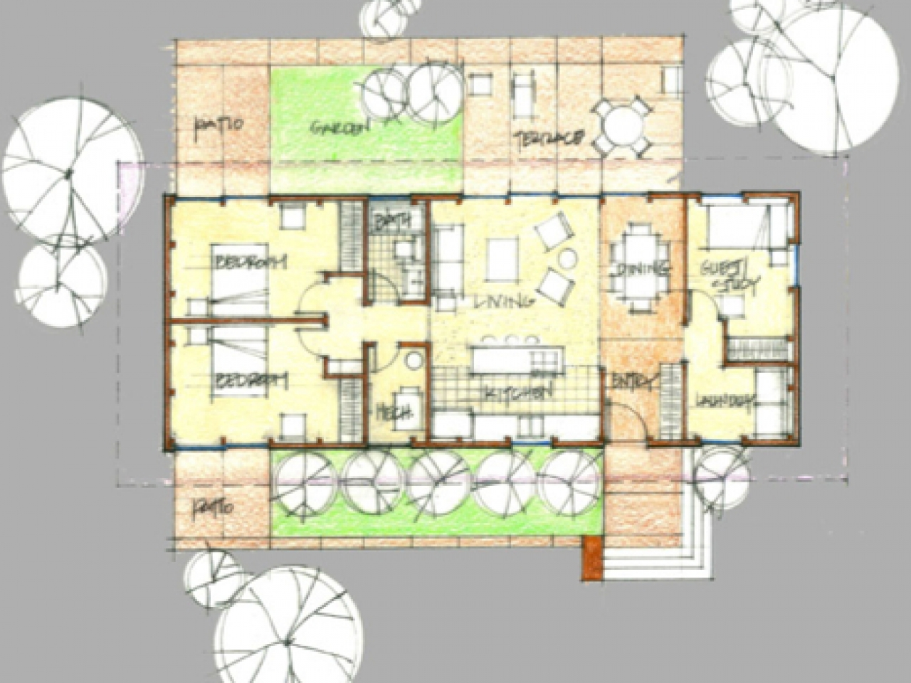 Mid Century Modern House Plans Mid Century Modern Homes