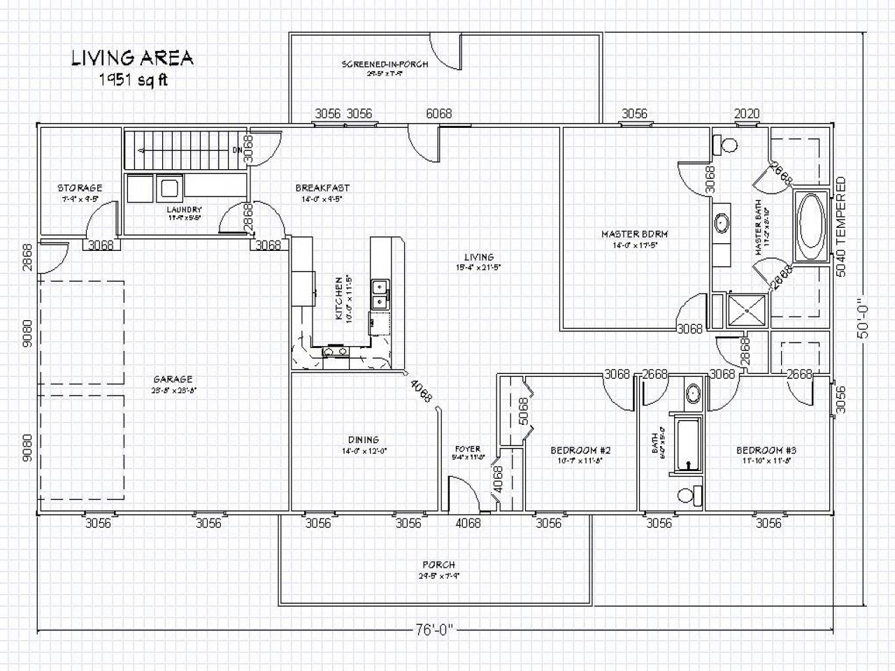 Ranch House Floor Plans With Basement Rustic Ranch House