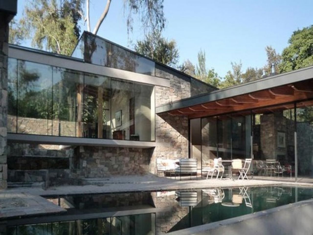 Modern Glass And Stone Houses Bliss Glass And Stone
