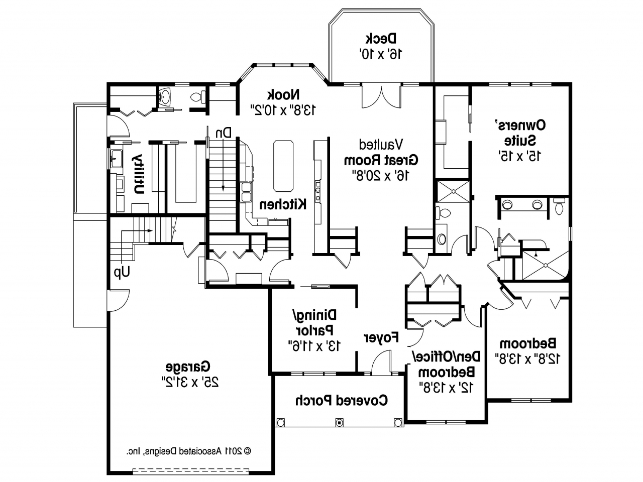 Modern 4 Bedroom House Plans Simple 4 Bedroom House Plans ...