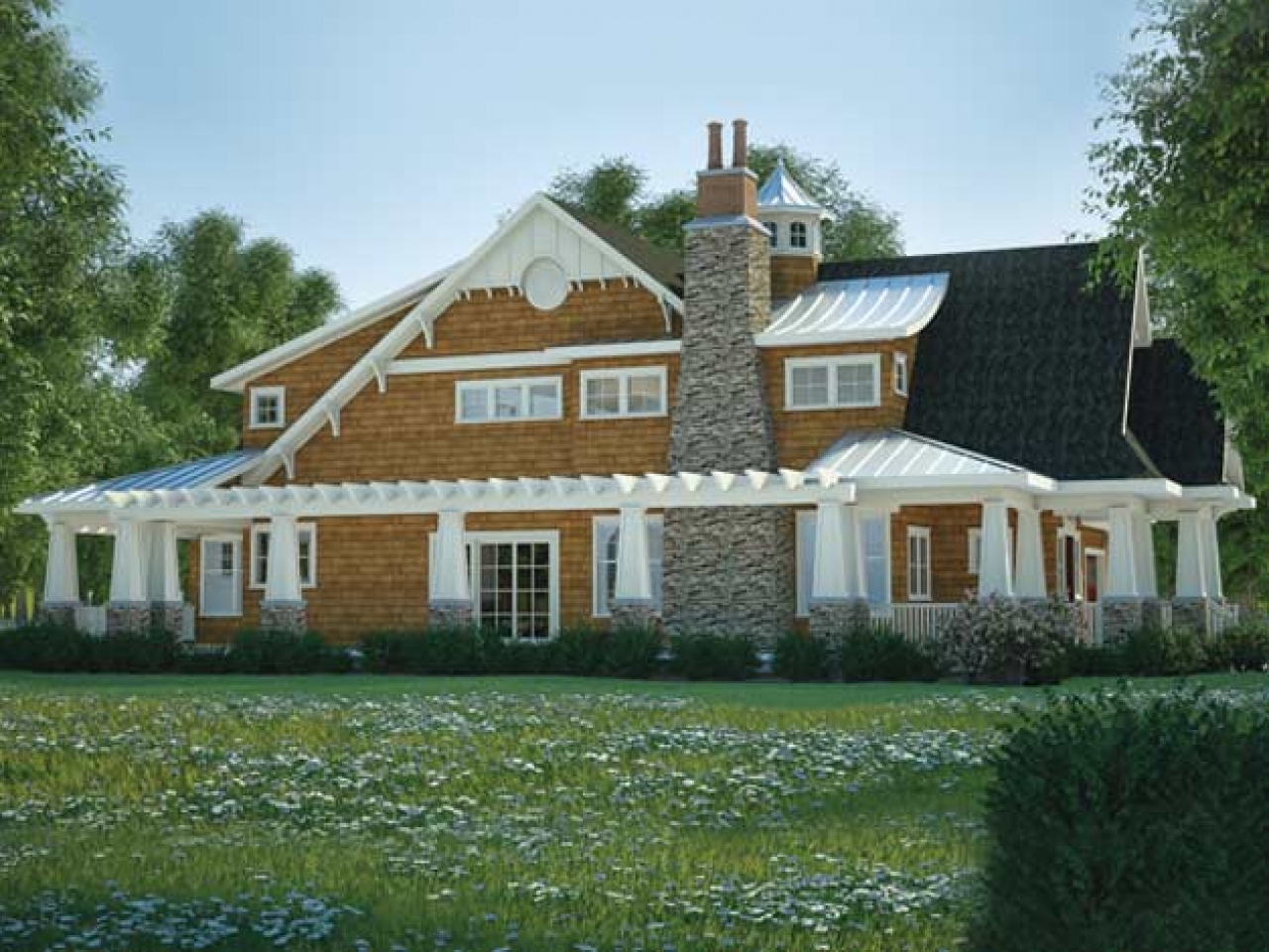 Award winning homes award winning cottage floor plans for Award winning ranch house plans