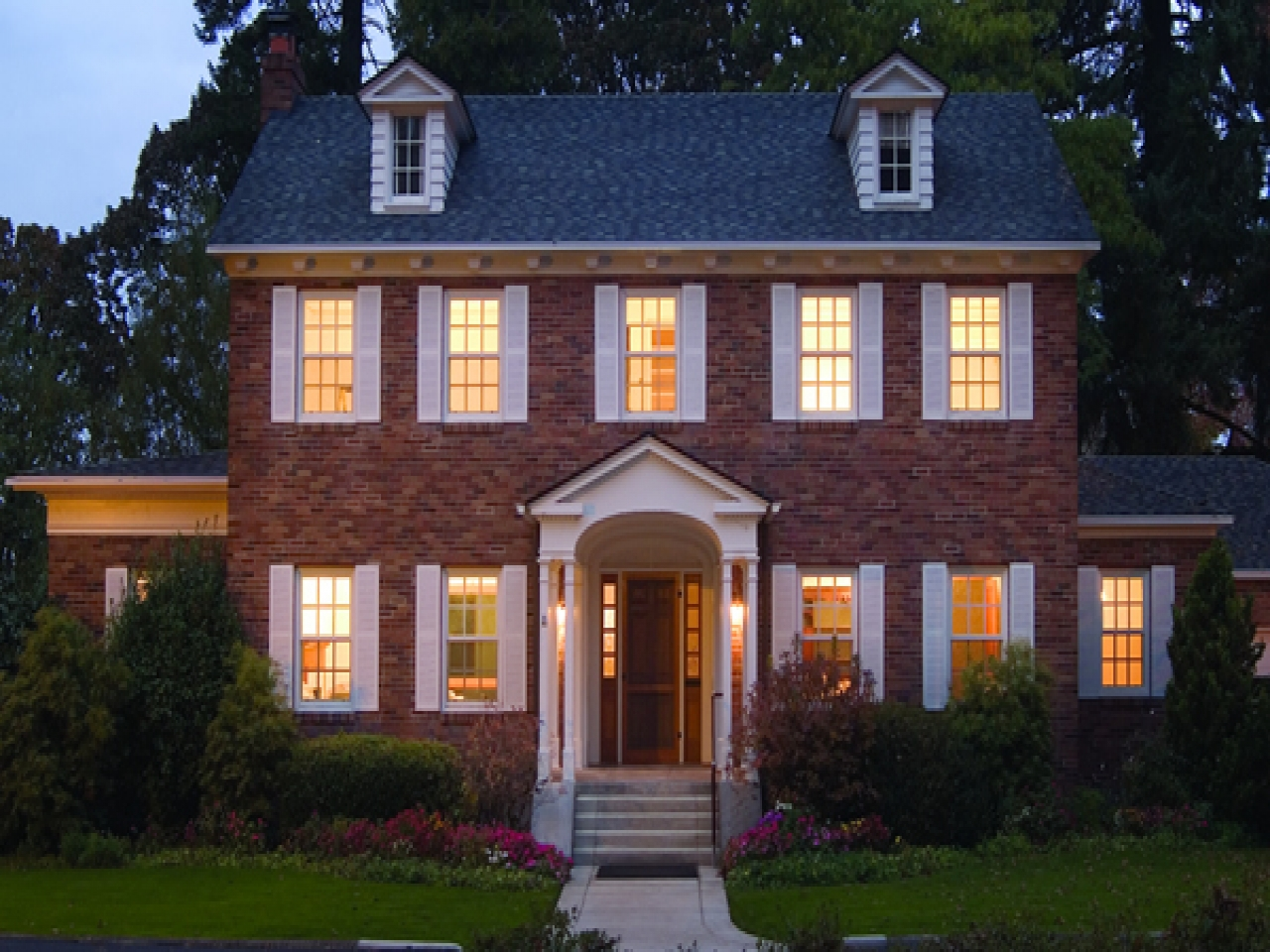 French Colonial Style New England Colonial Style Home New