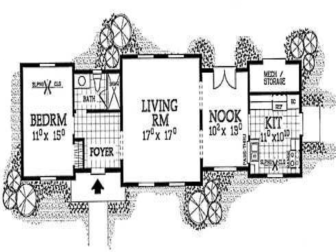 Small cabin floor plans rustic cabin plans small cabin for Cottage blueprints and plans