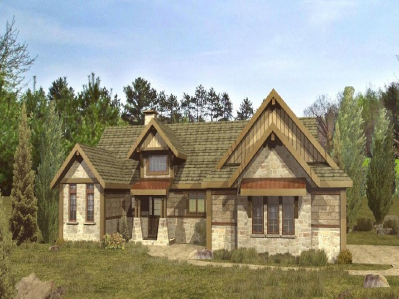 Wisconsin timber frame homes timber frame log home floor for Timber frame ranch home plans