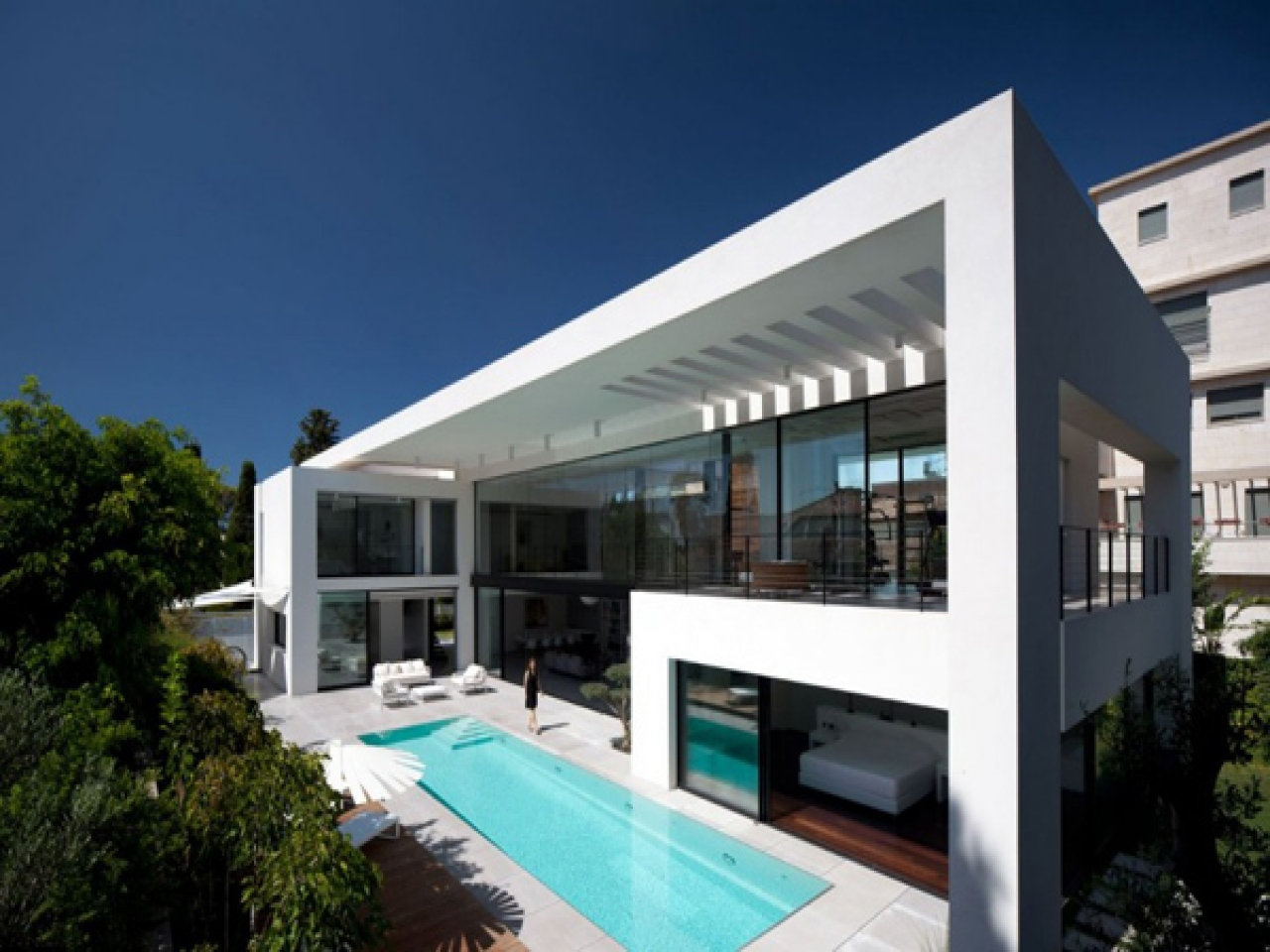 Modern house architecture designs israel modern japanese for Concept home designs