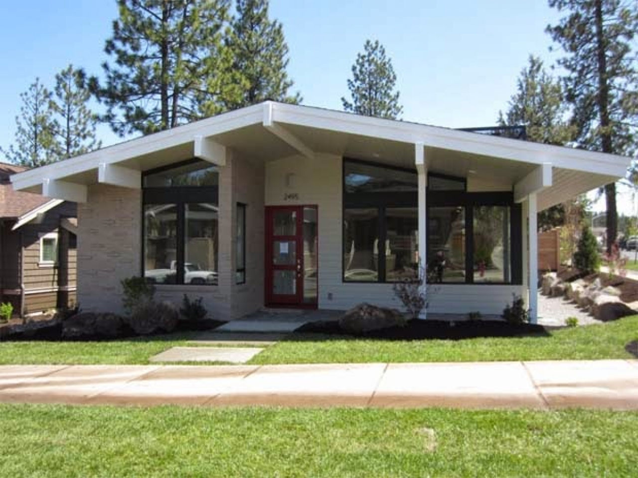 Mid century modern small house plans mid century modern for Small mid century modern house plans