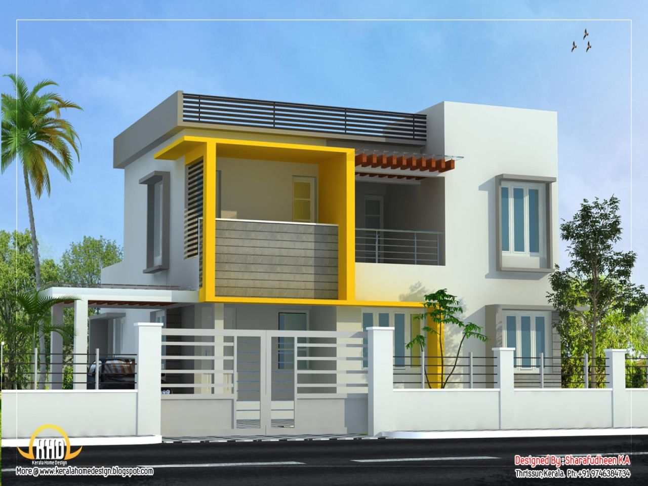 Architecture modern house designs home modern house design for New duplex home designs
