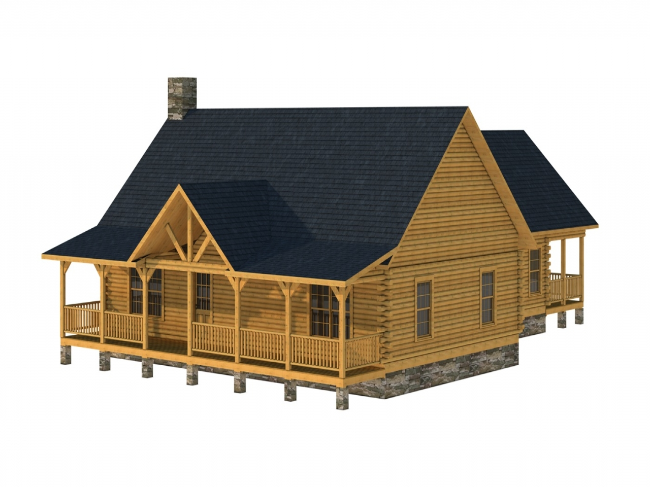 3 Story Log Home Plans Southland Log Homes Floor Plan