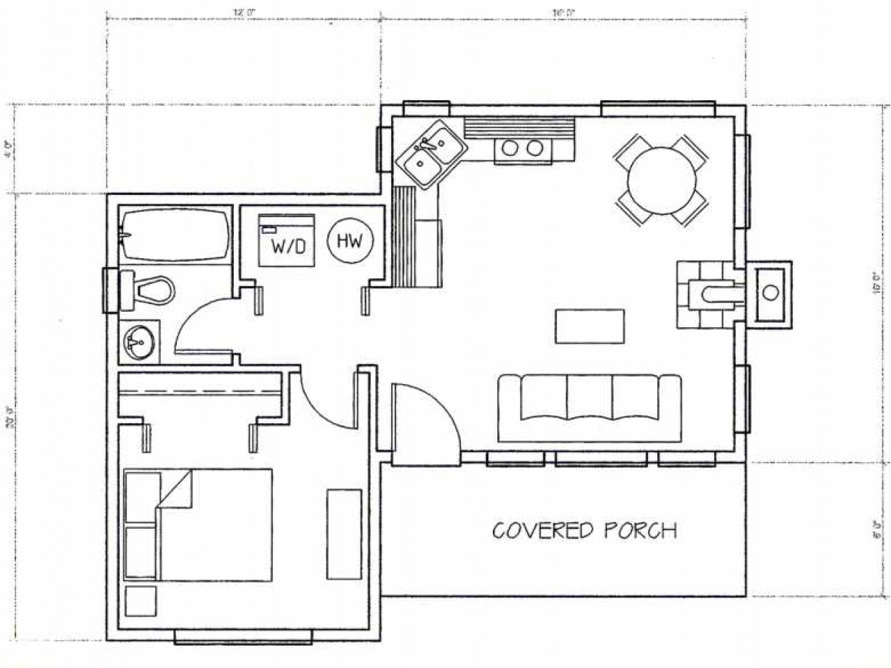Unique small house plans small cottage house plans for Cool small house plans
