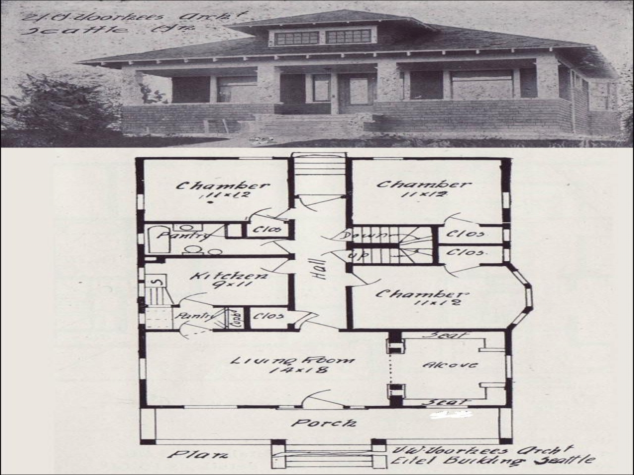Vintage bungalow house plan 1920 bungalow house plans for 1920 bungalow house plans