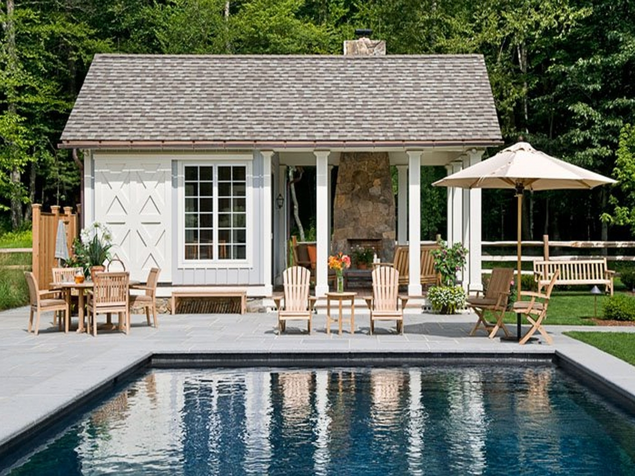 Small House Plans With Pools Small House Plans With