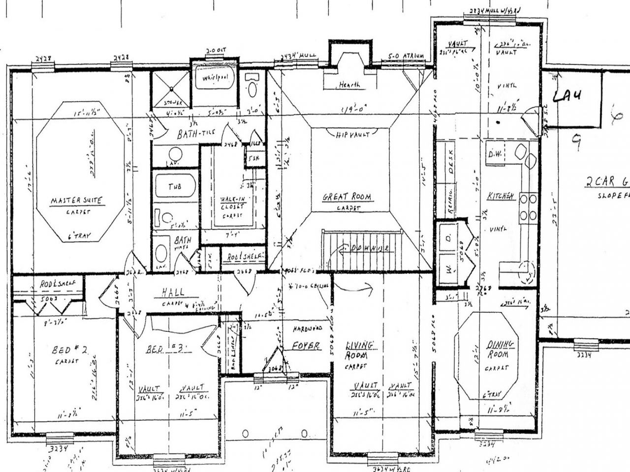 5 bedroom house floor plans house floor plans with for House plans with dimensions