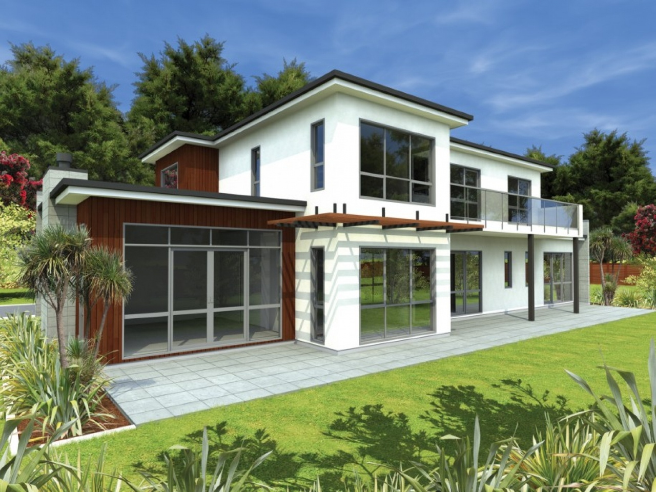 Modern bungalow house design simple house designs for Minimalist house design bungalow